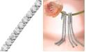 Macy's Certified Near Colorless Diamond Bracelet in 14k White Gold (5 ct. t.w.)