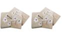 """Croscill Magnolia Floral 11"""" x 18"""" Fingertip Towel"""