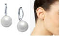 Lauren Ralph Lauren Silver-Tone Imitation Pearl Drop Earrings