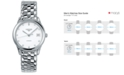 Longines Men's Swiss Automatic Flagship Diamond Accent Stainless Steel Bracelet Watch L47744276