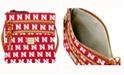 Dooney & Bourke Nebraska Cornhuskers Triple-Zip Crossbody Bag