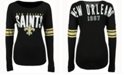 '47 Brand Women's New Orleans Saints Courtside Long-Sleeve T-Shirt