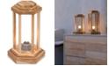 American Heritage Billiards CLOSEOUT! Zuo Latter Teak Small Floor Lamp