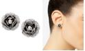 Betsey Johnson Rose Bud Stud Earrings