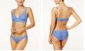 Hanky Panky Brenton Striped Lace Bralette & Bikini
