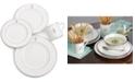 Lenox Federal Platinum Monogram Dinnerware Collection