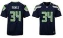 Nike Thomas Rawls Seattle Seahawks Game Jersey, Big Boys (8-20)