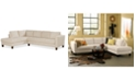 Furniture CLOSEOUT! Rylee Fabric 2 Piece Sectional Sofa, Created for Macy's