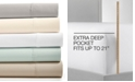 Fairfield Square Collection CLOSEOUT! Essex StayFit 6-Pc Extra Deep Pocket Queen Sheet Set 1200 Thread Count, Created for Macy's