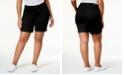 Celebrity Pink Trendy Plus Size Bermuda Shorts
