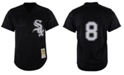 Mitchell & Ness Men's Bo Jackson Chicago White Sox Authentic Mesh Batting Practice V-Neck Jersey