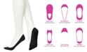 Hue Women's Padded Hidden Microfiber Liner Socks