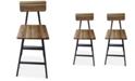 Noble House Noriss Bar Chair (Set Of 2)