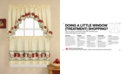 "CHF Red Delicious 24"" Window Tier & Swag Valance Set"