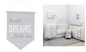 NoJo The Dreamer Collection Sweet Dreams Little One Graphic-Print Wall Banner