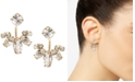 Marchesa Gold-Tone Crystal Jacket Earrings