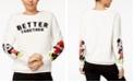 Disney Juniors' Mickey & Minnie Plush Graphic Sweatshirt