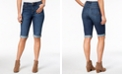 Style & Co Curvy Denim Bermuda Shorts, Created for Macy's