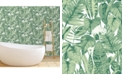 Tempaper Tropical  Self-Adhesive Wallpaper, 56 Sq.Ft