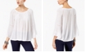 INC International Concepts I.N.C. Embroidered Top, Created for Macy's