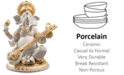 Lladro Veena Ganesha Golden Re-Deco Figurine