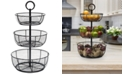 Mikasa Gourmet Basics By Round Wrap 3-Tier Basket
