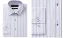 Nick Graham Men's Slim-Fit Stretch Easy-Care Multi Stripe Dress Shirt