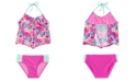 Summer Crush 2-Pc. Floral-Print Tankini, Big Girls