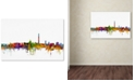 "Trademark Global Michael Tompsett 'Washington DC Skyline II' Canvas Art - 16"" x 24"""