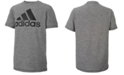 adidas Big Boys Logo-Print T-Shirt