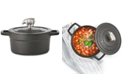 Martha Stewart Collection 2-Qt. Enameled Cast Iron Dutch Oven with Pig Finial, Created for Macy's