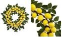 "Nearly Natural 24"" Artificial Lemon Wreath"