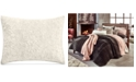 Martha Stewart Collection Velvet Flourish Quilted Standard Sham, Created for Macy's