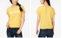 Hybrid Juniors' Lettuce-Edge Sunshine-Graphic T-Shirt