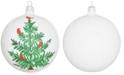 VIETRI Lastra Holiday Tree Glass Ornament