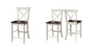 "International Concepts X-Back Counterheight Stool - 24"" Seat Height"