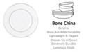 Lenox Continental Dining Platinum Accent Plate