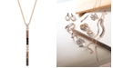 """Le Vian Chocolate Layer Cake™ Blackberry Diamonds®, Chocolate Diamonds® & Nude Diamonds™ 18"""" Pendant Necklace (1 ct. t.w.) in 14k Rose, Yellow or White Gold"""