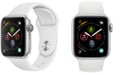 Apple Watch Series 4 Apple Watch Series 4 GPS, 40mm Silver Aluminum Case with White Sport Band