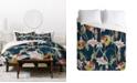 Deny Designs Cayenablanca Orchid Dance Duvet Set