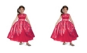 BuySeasons Disney Elena of Avalor Elena Ball Gown Deluxe Little and Big Girls Costume