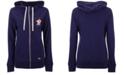 New Era Houston Astros Triblend Fleece Full-Zip Sweatshirt