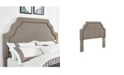 Crosley CLOSEOUT! Loren Keystone Upholstered Full/Queen Headboard In Linen