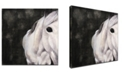 Ready2HangArt 'Snow Horse' Canvas Wall Art, 20x20""