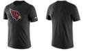 Nike Men's Arizona Cardinals Dri-Fit Cotton Essential Logo T-Shirt