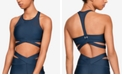 Under Armour High-Neckline Wrap Low-Impact Sports Bra