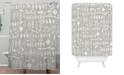Deny Designs Iveta Abolina White Morning Shower Curtain