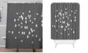 Deny Designs Iveta Abolina Study in Gray I Shower Curtain