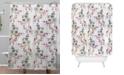 Deny Designs Iveta Abolina Rose Blush Shower Curtain