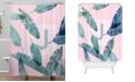 Deny Designs Iveta Abolina Peaches N Cream J Shower Curtain